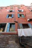 Costruzione di appartamento a Venezia Fotografia Stock