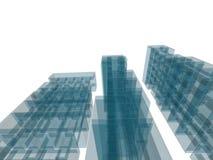 Costruzione di architettura Immagine Stock Libera da Diritti