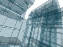 Costruzione di architettura Fotografia Stock Libera da Diritti