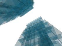 Costruzione di architettura Immagini Stock
