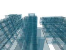 Costruzione di architettura Fotografia Stock