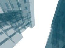 Costruzione di architettura Fotografie Stock