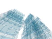 Costruzione di architettura Immagini Stock Libere da Diritti