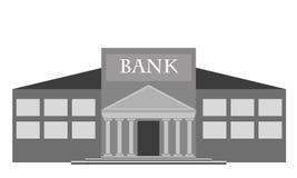 Costruzione di banca di vettore Immagine Stock