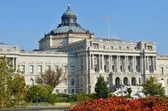 Costruzione di Biblioteca del Congresso, Washington DC - Stati Uniti Immagini Stock
