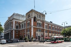 Costruzione di borsa valori a Vienna Fotografia Stock