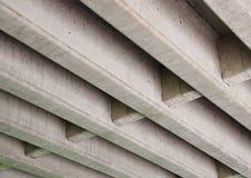 Costruzione di calcestruzzo per il ponte stradale da sotto Immagini Stock Libere da Diritti