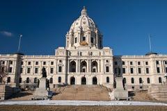 Costruzione di Campidoglio della condizione del Minnesota Fotografie Stock Libere da Diritti