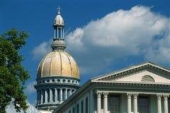 Costruzione di Campidoglio della condizione del New Jersey Immagine Stock Libera da Diritti