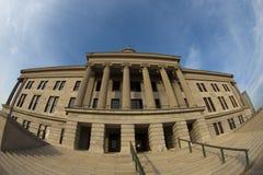 Costruzione di Campidoglio della condizione del Tennessee Fotografia Stock Libera da Diritti