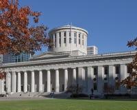 Costruzione di Campidoglio della condizione dell'Ohio fotografia stock libera da diritti