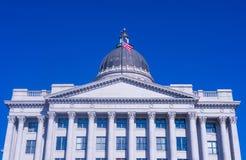 Costruzione di Campidoglio della condizione dell'Utah Fotografie Stock