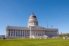 Costruzione di Campidoglio della condizione dell'Utah Fotografie Stock Libere da Diritti