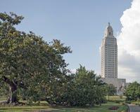 Costruzione di Campidoglio della condizione della Luisiana Fotografie Stock