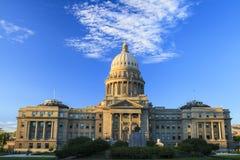 Costruzione di Campidoglio di Boise, Idaho fotografia stock libera da diritti