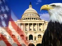 Costruzione di Campidoglio - Washington DC Fotografia Stock