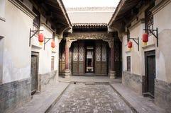 Costruzione di casa antica cinese Fotografie Stock Libere da Diritti