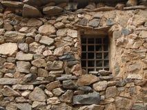 Costruzione di casa di pietra Immagine Stock Libera da Diritti