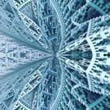 Costruzione di chiesa di cieli geometrica illustrazione vettoriale