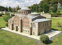 Costruzione di chiesa a Costantinopoli Fotografie Stock