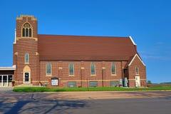 Costruzione di chiesa modernizzata Fotografia Stock Libera da Diritti