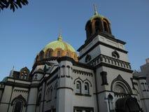 Costruzione di chiesa ortodossa giapponese a Tokyo Immagini Stock Libere da Diritti