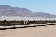 Costruzione di comitato solare fotografia stock libera da diritti