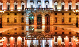 Costruzione di d'Annecy di Mairie, Annecy, Francia Immagine Stock