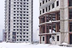 costruzione di edifici Fotografie Stock