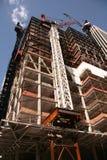 Costruzione di edifici Immagini Stock