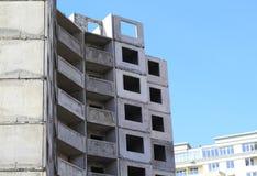 Costruzione di edifici del pannello Fotografia Stock