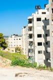 Costruzione di edifici dell'appartamento Fotografia Stock