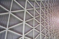 Costruzione di edifici della struttura dell'acciaio del metallo Fotografie Stock Libere da Diritti