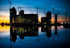 costruzione di edifici e sviluppo corporativi Fotografia Stock