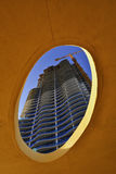 Costruzione di edifici moderna Immagine Stock