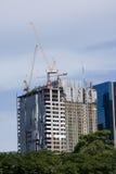 Costruzione di edifici più alta Fotografia Stock Libera da Diritti