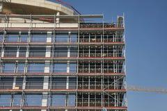 Costruzione di edifici urbana fotografia stock libera da diritti