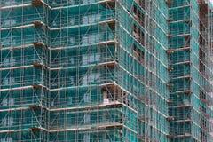 Costruzione di edifici urbana immagini stock libere da diritti