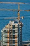 Costruzione di edifici urbana fotografie stock libere da diritti