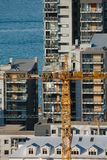 Costruzione di edifici urbana immagine stock libera da diritti