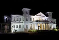 Costruzione di eredità della città di George alla notte fotografie stock libere da diritti