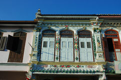 Costruzione di eredità nel Malacca Immagini Stock