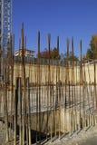 Costruzione di fabbricato industriale in cemento armato Fotografia Stock Libera da Diritti