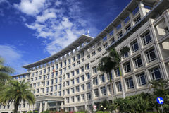 Costruzione di governo del distretto di Haicang Immagine Stock