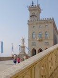 Costruzione di governo del San Marino Fotografia Stock