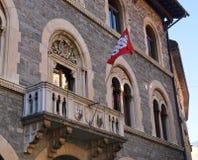 Costruzione di governo della Svizzera, Bellinzona Fotografie Stock Libere da Diritti