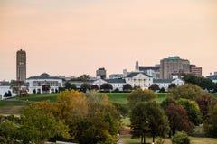 Costruzione di governo a Richmond VA fotografia stock libera da diritti