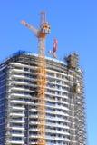 Costruzione di grattacielo Fotografia Stock