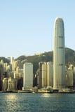Costruzione di Hong Kong Fotografie Stock Libere da Diritti