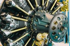 Costruzione di industria æreonautica del motore senza rivestimenti protettivi fotografia stock